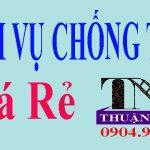 Dịch vụ chống thấm ở tại TPHCM chuyên nghiệp
