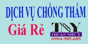 Dịch vụ chống thấm ở tại TPHCM