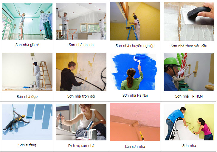 Dịch vụ sơn nước tại quận 5 - Dịch vụ sơn nhà uy tín,chất lượng Tại HCM