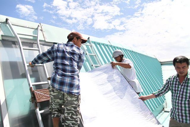 Dịch vụ chống dột mái tôn quận 11 - Dịch vụ chống thấm nhà xưởng Tại hcm Liên hệ 0904.985.685