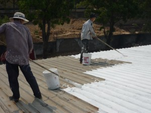 Dịch vụ chống dột mái tôn quận bình thạnh