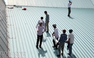 Dịch vụ chống dột mái tôn quận thủ đức