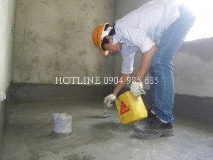 Chống thấm sàn vệ sinh ở tại tphcm