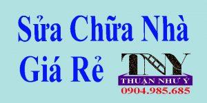Sửa chữa nhà chuyên nghiệp tại TPHCM