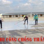 Thi công chống thấm tại TPHCM