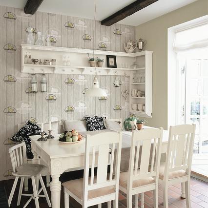 Lựa chọn giấy dán tường bếp như thế nào?