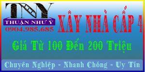 Xây Nhà Cấp 4 Giá Từ 100 Đến 200 Triệu Đồng
