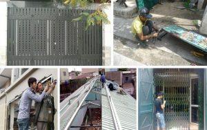 Sửa chữa cửa sắt tại nhà uy tín TPHCM, Đồng Nai, Bình Dương