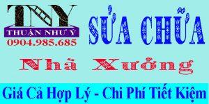 Dịch vụ sửa chữa nhà xưởng tại TPHCM, Đồng Nai, Bình Dương