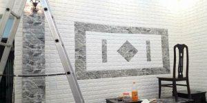 Thi công giấy dán tường, xốp dán tường Hà Nội uy tín