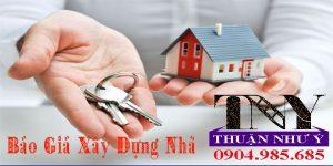 Báo giá xây dựng nhà trọn gói giá rẻ