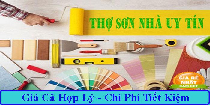 Thợ sơn nhà tại quận Phú Nhuận uy tín