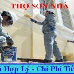 Thợ sơn nhà tại quận Tân Bình chuyên nghệp uy tín