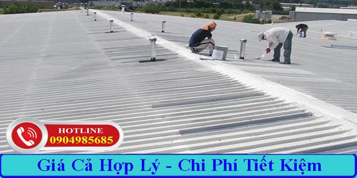 Dịch vụ chống dột mái tôn TPHCM giá rẻ