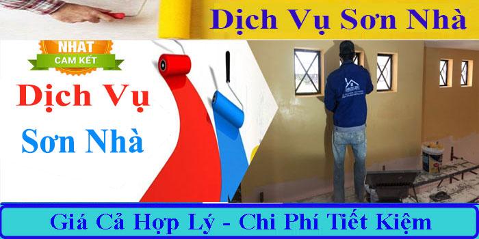 Dịch vụ sơn nhà ở tại TPHCM uy tín nhất