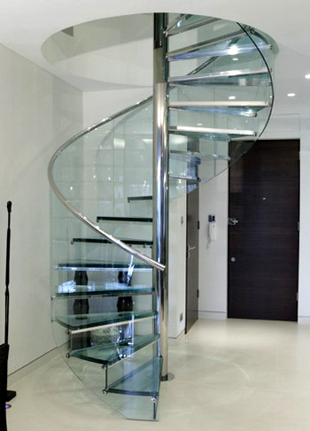 Báo giá thi công làm cầu thang xoắn sắt – Inox