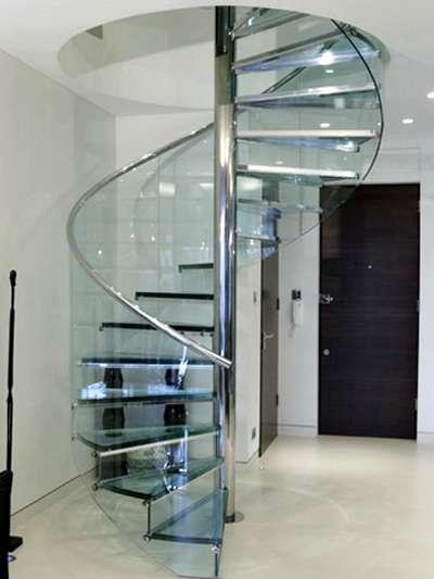 Giá thi công làm cầu thang xoắn sắt – Inox