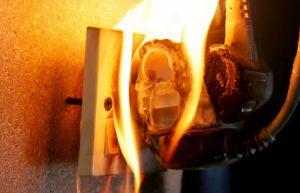 Sửa điện chập cháy