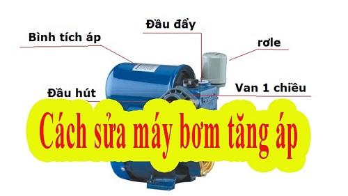 Sửa máy bơm tăng áp