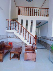 Bán nhà ở hương lộ 6 ngay chợ thạnh Phú Nhà cấp 4, gác lửng thổ cư 100% Giá 790tr