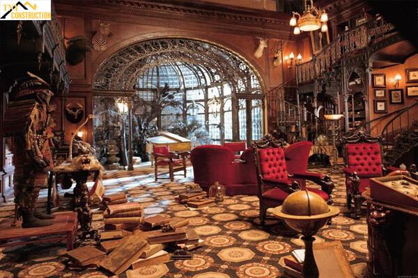 Phong cách thiết kế nội thất Gothic