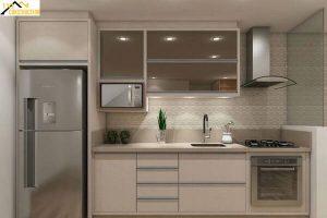 Tủ bếp dài