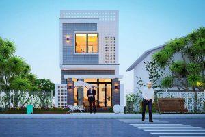 Những mẫu nhà phố đẹp, xu hướng 2021