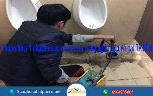 Thuận Như Ý chuyên sửa chữa cầu cống nghẹt giá rẻ tại TP.HCM